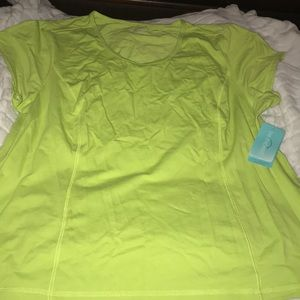Lime xxl performance wicking shirt